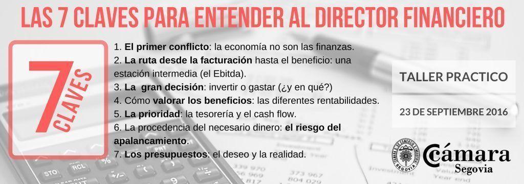 LAS 7 CLAVES PARA ENTENDER AL DIRECTOR FINANCIERO