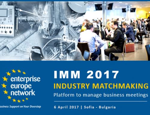 Matchmaking en Bulgaria: MachTech y InnoTech 2017