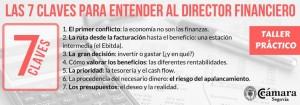 Taller: 7 claves para entender al director financiero @ Cámara de Segovia | Segovia | Castilla y León | España