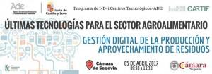 Ultimas tecnologías para el sector agroalimentario @ Cámara de Segovia | Segovia | Castilla y León | España