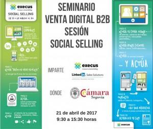 Seminario Venta digital B2B -Social selling @ Cámara de Segovia | Segovia | Castilla y León | España