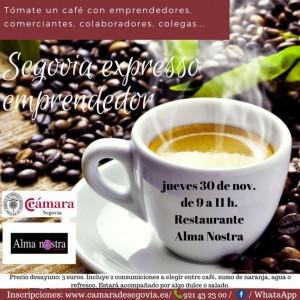 Segovia expresso emprendedor @ Restaurante Alma Nostra | Segovia | Castilla y León | España