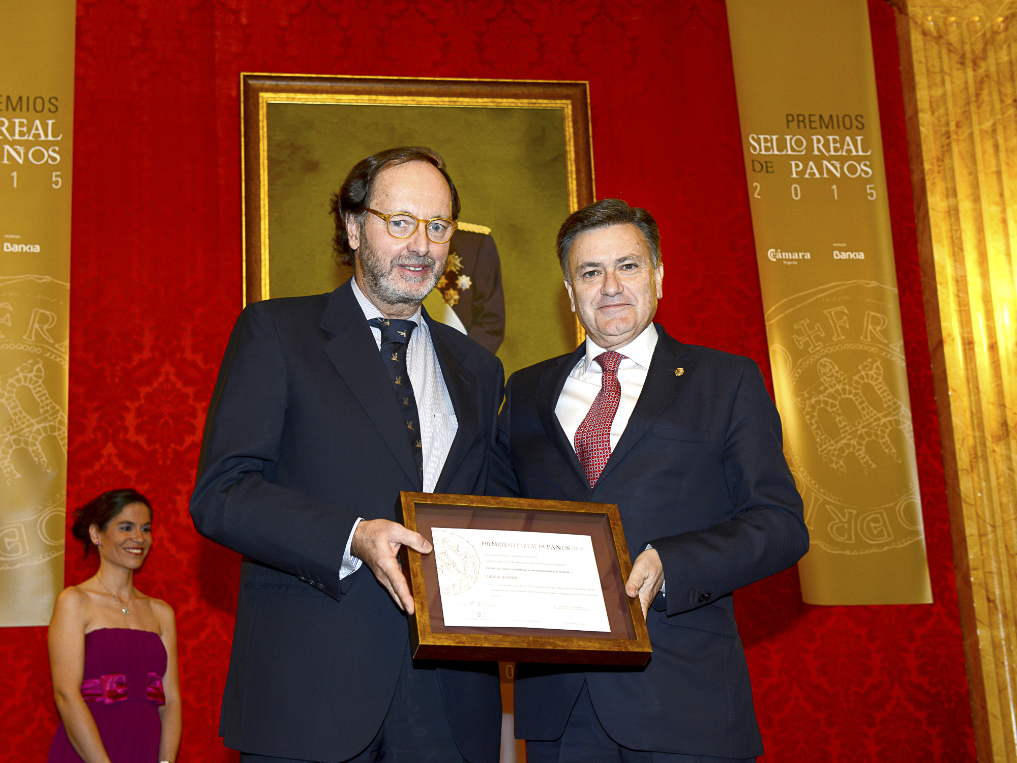 premios sello real de paños