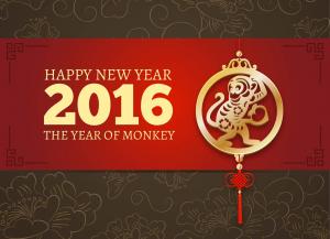 Año nuevo chino, Año del Mono
