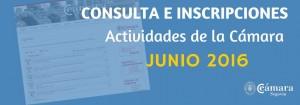 ACTIVIDADES CAMARA SEGOVIA JUNIO 2016