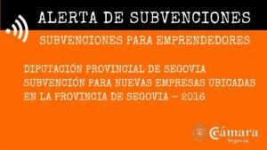 SUBVENCIONES EMPRENDEDORES DIPUTACION 2016