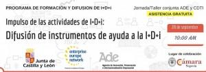 DIFUSION DE INSTRUMENTOS DE AYUDA A LA i+d+I