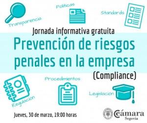 Jornada Prevención de riesgos penales en las empresas @ Cámara de Segovia | Segovia | Castilla y León | España