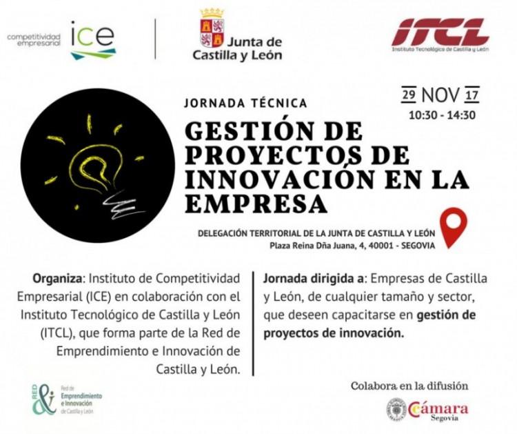 Jornada técnica: Gestión de proyectos de innovación en la empresa