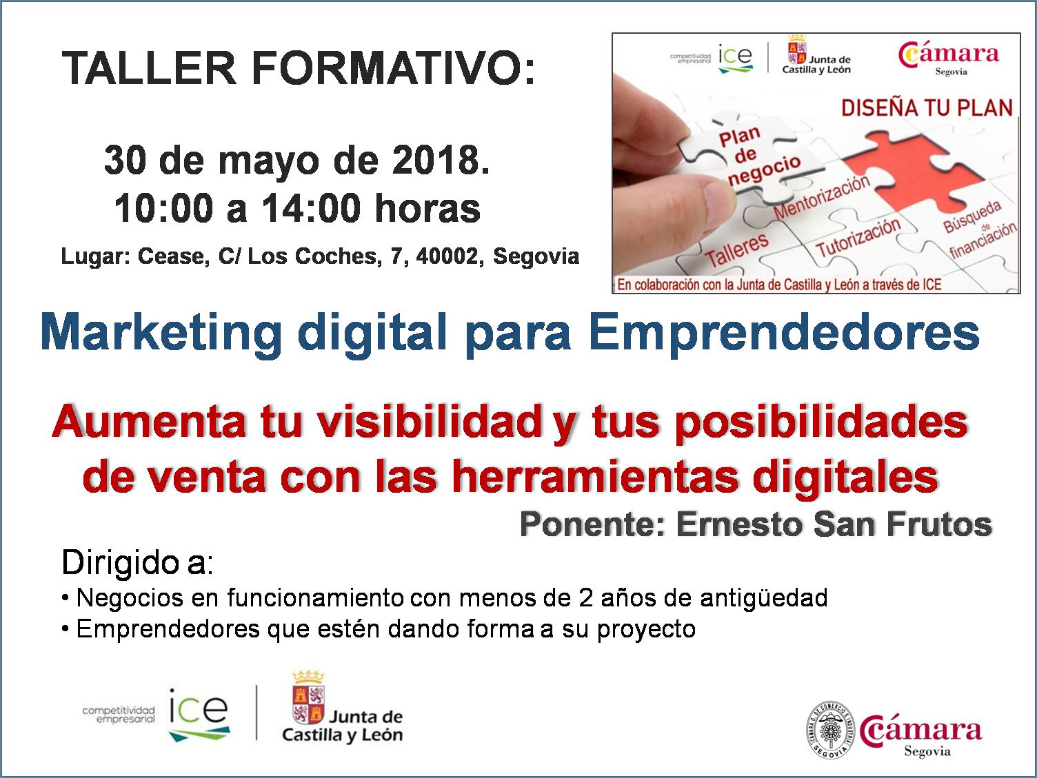 Agenda - Cámara de Comercio, Industria y Servicios de Segovia