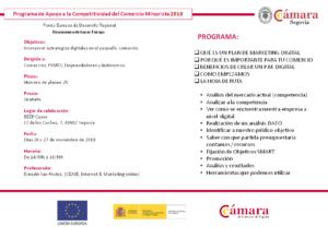 Taller formativo: Diseñar un plan de marketing digital para un comercio @ BEEP CEASE | Segovia | Castilla y León | España