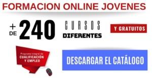 FORMACION GRATUITA PARA JOVENES DESCARGAR EL CATALOGO