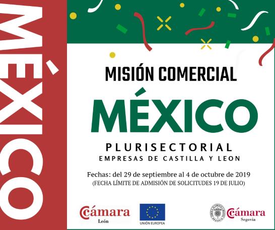 Misión comercial a MEXICO. Plurisectorial