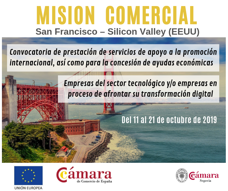 MISION COMERCIAL DIRECTA SAN FRANCISCO – SILICON VALLEY