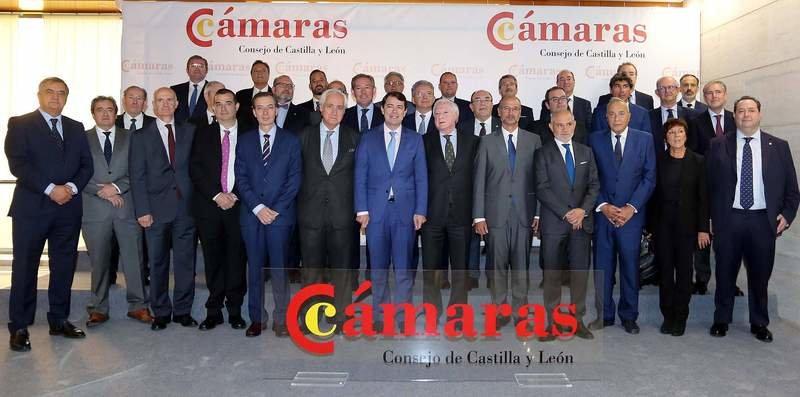 Constituido el Consejo de Cámaras de CyL. Miguel Mendez Pozo elegido Presidente