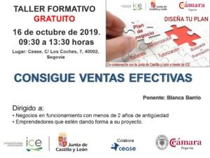 Taller de Emprendimiento en Segovia: Consigue ventas eficaces @ Beep Cease