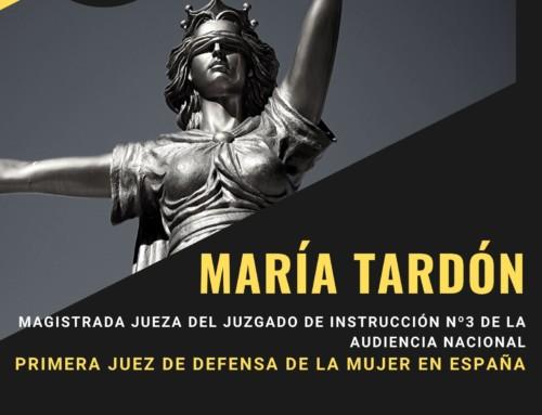 DESAYUNO/COLOQUIO: MARIA TARDÓN, SEGOVIANA, MAGISTRADA VIOLENCIA SOBRE LA MUJER