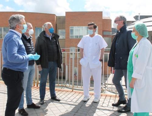 La Delegación Territorial de JCyL agradece la donación de tres respiradores al Hospital General