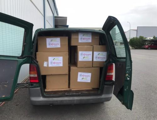 30.000 mascarillas adquiridas en la campaña solidaria