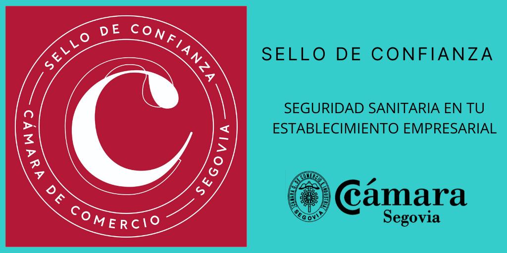 SELLO DE CONFIANZA CAMARA DE SEGOVIA
