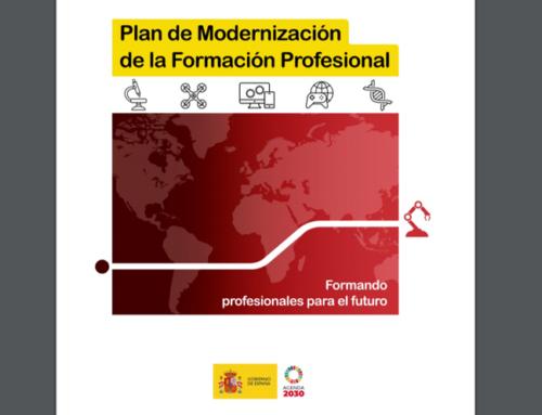 Plan de modernización de la Formación Profesional