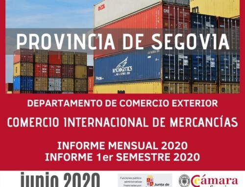 "El comercio exterior de la provincia de Segovia continua ""on fire"""