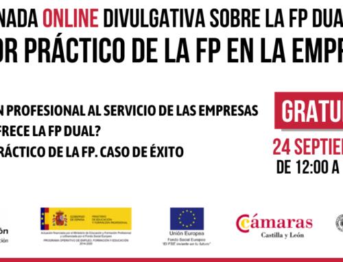 EL VALOR PRÁCTICO DE LA FP EN LA EMPRESAS: jornada on line 24 de septiembre de 2020