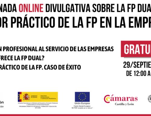 EL VALOR PRÁCTICO DE LA FP EN LA EMPRESAS: jornada on line 29 de septiembre de 2020