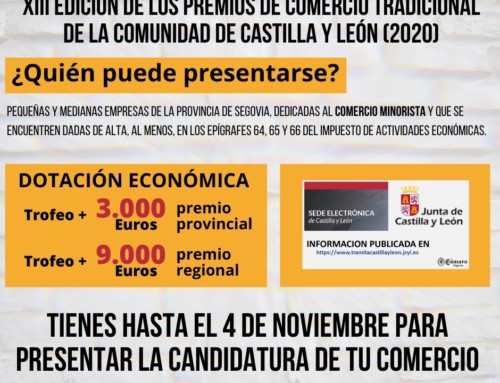XIII edición de los premios de comercio tradicional de Castilla y León
