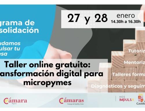 Taller: Transformación digital para micropymes (gratuito)