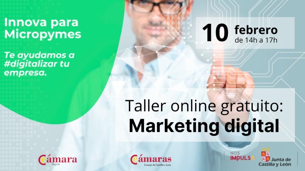 taller online gratuito marketing digital