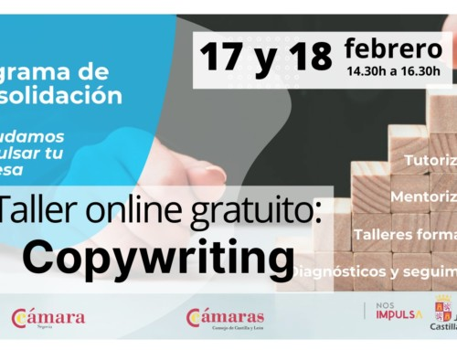 Programa de consolidación: taller online gratuito Copywriting