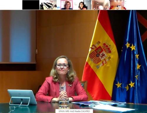 La vicepresidenta segunda del Gobierno presenta al pleno de la Cámara de España el Plan de Recuperación, Transformación y Resiliencia