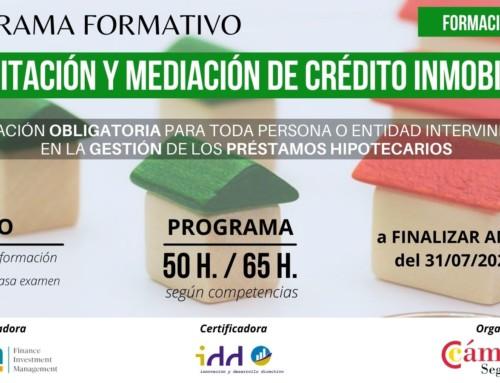 Programa de Formación y Acreditación de Intermediarios de Crédito Inmobiliario