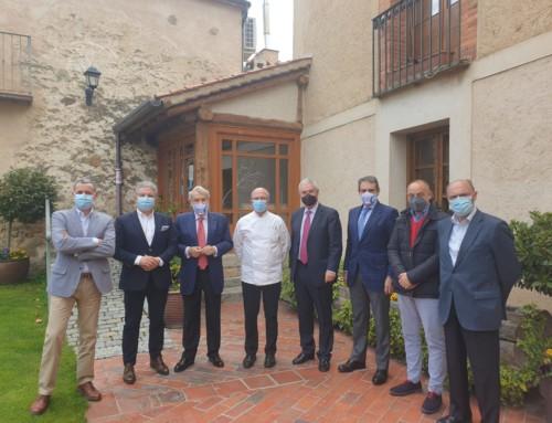 Un grupo de empresarios respalda la llegada a Segovia de la Hermandad de Amigos del BeneméritoCuerpo de la Guardia Civil