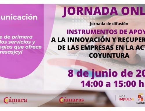 Jornada de difusión de Instrumentos de Apoyo a la Innovación y Recuperación de las Empresas en la Actual Coyuntura
