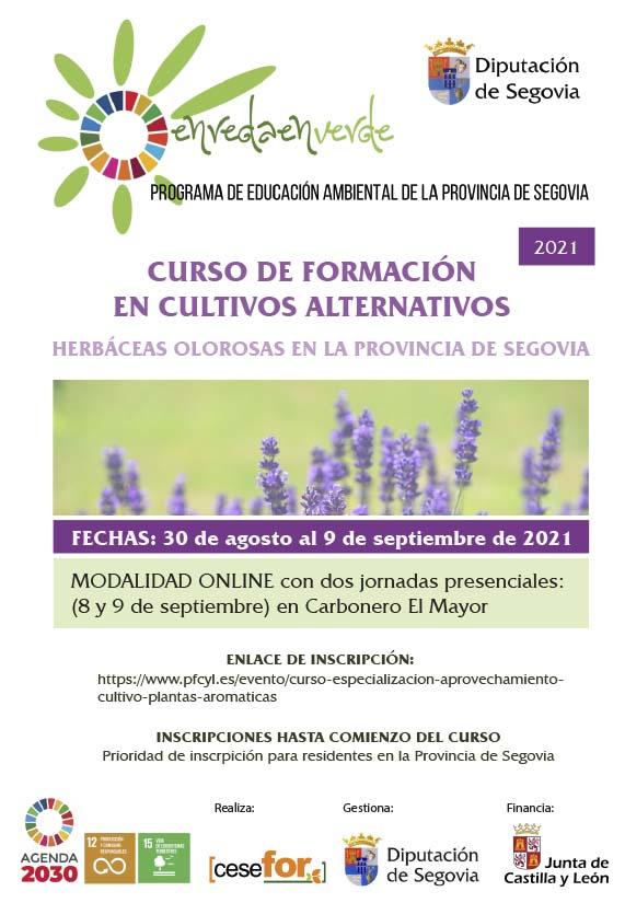 CURSO DE FORMACION EN CULTIVOS ALTERNATIVOS