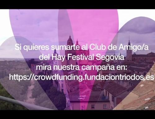 """""""Hay Festival"""" pone en marcha una campaña de Crowdfunding"""
